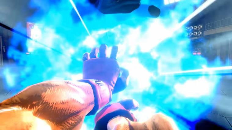 Ultra Street Fighter II: The Last Challengers - belső nézetből is oszthatjuk a hadoukent bevezetőkép