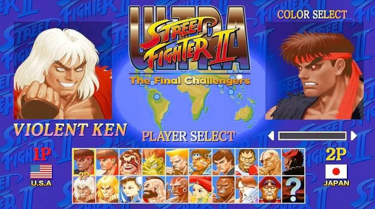 Ultra Street Fighter II: The Final Challengers - nézz és hallgass bele a játékba bevezetőkép