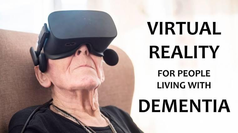 Így győzheti le a virtuális valóság a demenciát bevezetőkép