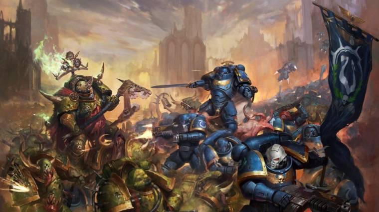 Élőszereplős Warhammer 40K tévésorozat készül bevezetőkép
