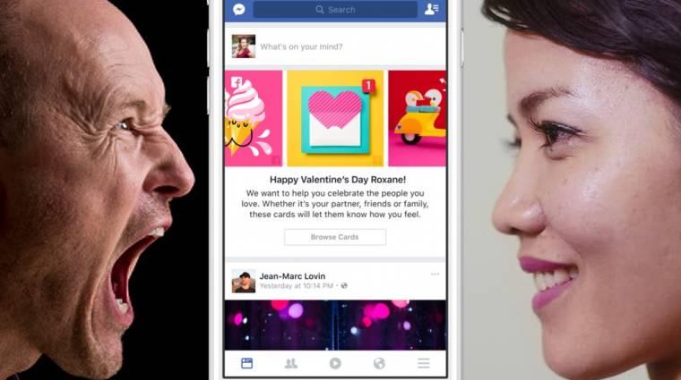 Jövő héten ne Facebookozz, ha nem bírod a Valentin-napot kép