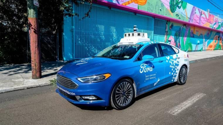 Egyelőre nem ülhetünk be a Ford robottaxikba kép
