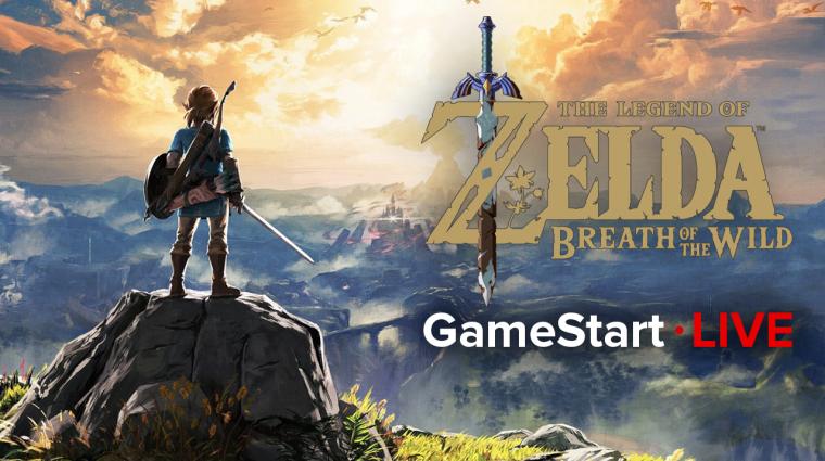 Megint rászabadulunk Hyrule-ra - The Legend of Zelda: Breath of the Wild livestream bevezetőkép