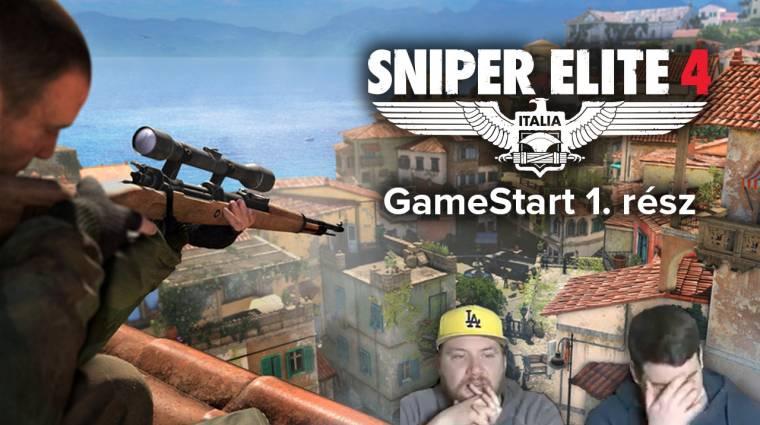 Robbanó herék és loccsanó agyvelők - Sniper Elite 4 GameStart 1. rész bevezetőkép