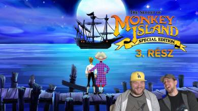 Irány a majmok szigete! - The Secret of Monkey Island GameStart 3. rész