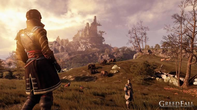 GreedFall - 10 perc gameplay érkezett a kolonizálós RPG-ből bevezetőkép