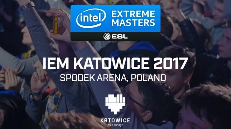 Hamarosan indul az Intel Extreme Masters Katowice 2017 bevezetőkép