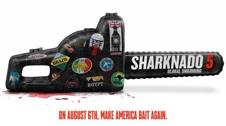 Sharknado 5 - Megérkezett a cím és a dátum kép