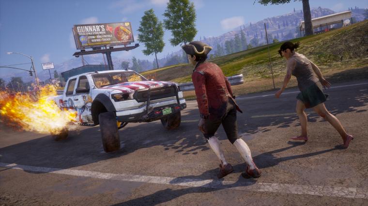 State of Decay 2 - tüzijátékvetőt és lángoló kocsikat hozott az Independence Pack bevezetőkép