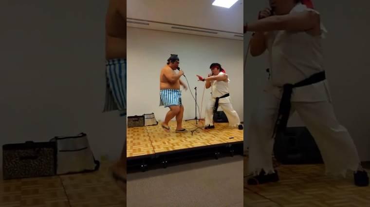 Napi büntetés: így harcolnának legendás Street Fighter cosplayerek a játékban bevezetőkép