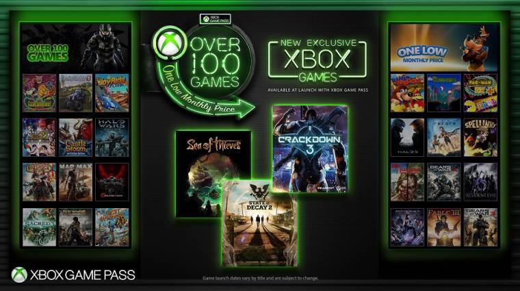 Xbox Game Pass - a Microsoft összes új játéka elérhető lesz a megjelenéstől bevezetőkép