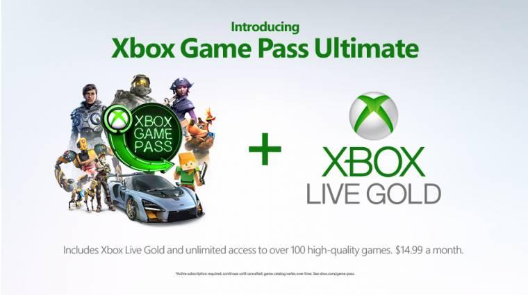 Xbox Game Pass Ultimate - még idén egyesíthetjük a Microsoft két előfizetéses szolgáltatását bevezetőkép