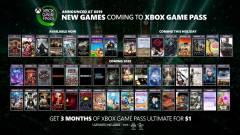 Ez az 50 játék mind bekerül hamarosan az Xbox Game Pass kínálatába kép