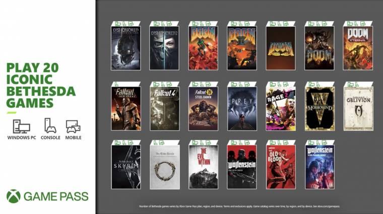 Ez a 20 Bethesda játék lesz elérhető az Xbox Game Passben bevezetőkép