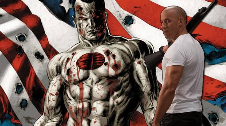 Íme az első kép a Vin Diesel-féle Bloodshot filmből kép