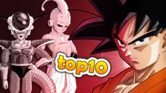 Top 10 - Dragon Ball Z gonosz kép