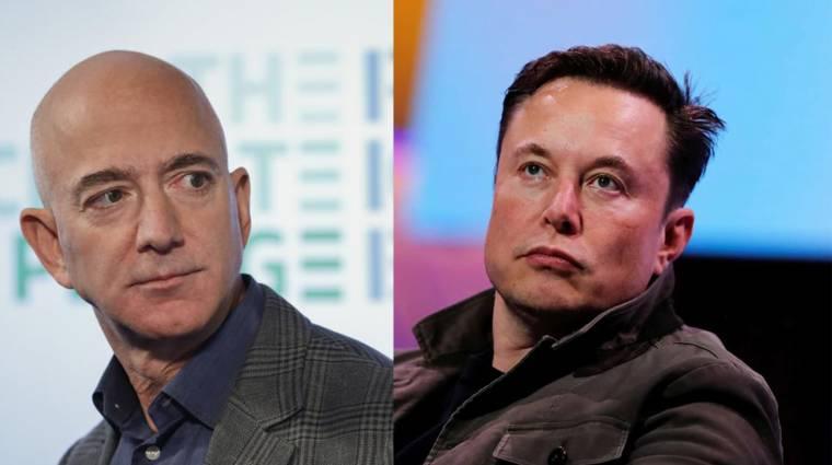 Jeff Bezos és Elon Musk szinte semmit sem adóznak a jövedelmeik után kép