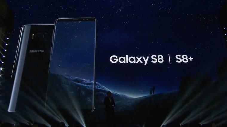 Húzós árral érkezik a Samsung Galaxy S8 kép