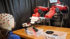 Gondolatolvasó robotot fejleszt a MIT kép