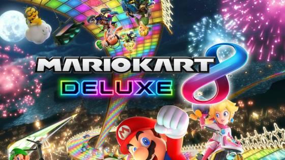 Mario Kart 8 Deluxe infódoboz