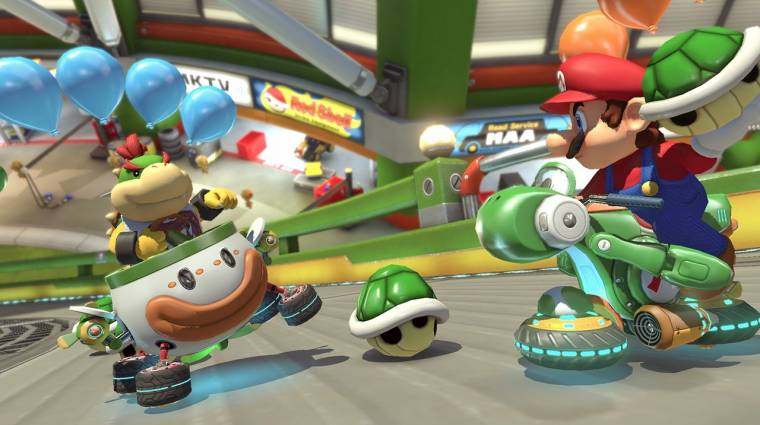 Mario Kart 8 Deluxe - videó mutatja meg, hogy mivel több a Switch verzió bevezetőkép