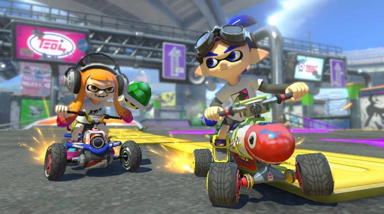 Mario Kart 8 Deluxe - így néznek ki az új Battle Mode pályák bevezetőkép