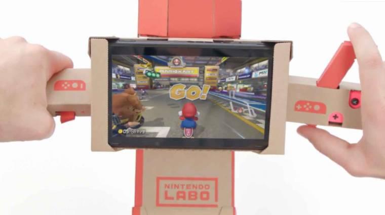 Nintendo Labóval is játszható a Mario Kart 8 Deluxe bevezetőkép