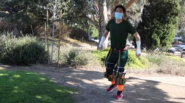 Egy Naruto rajongó kipróbálta a Rock Lee edzéstervet bevezetőkép