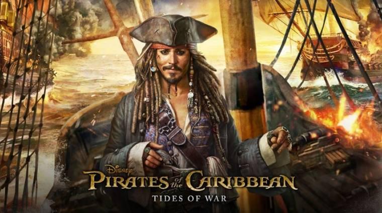 Az új Karib-tenger kalózai filmhez lesz játék... mobilra bevezetőkép