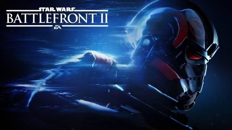Star Wars Battlefront 2 - itt a hivatalos trailer, nagy meglepetés a főhős bevezetőkép