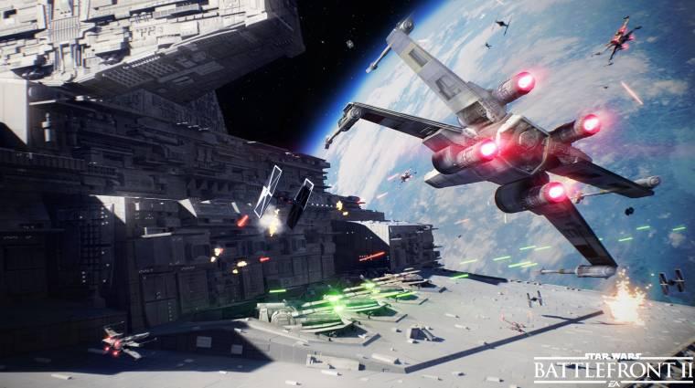 Star Wars Battlefront 2 - teljes pompájában mutatta meg magát a Naboo bolygó bevezetőkép