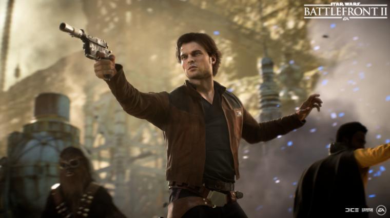 Star Wars Battlefront II - ütős trailert kapott a Han Solo szezon bevezetőkép