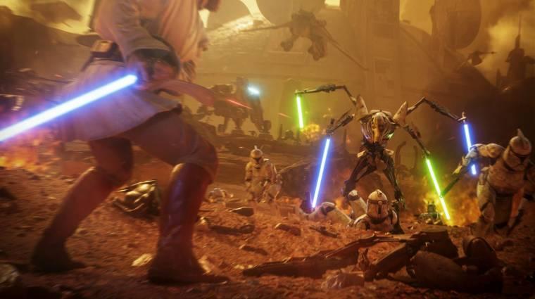 Star Wars Battlefront II - a hónap végén jön a Geonosis és Obi-Wan bevezetőkép