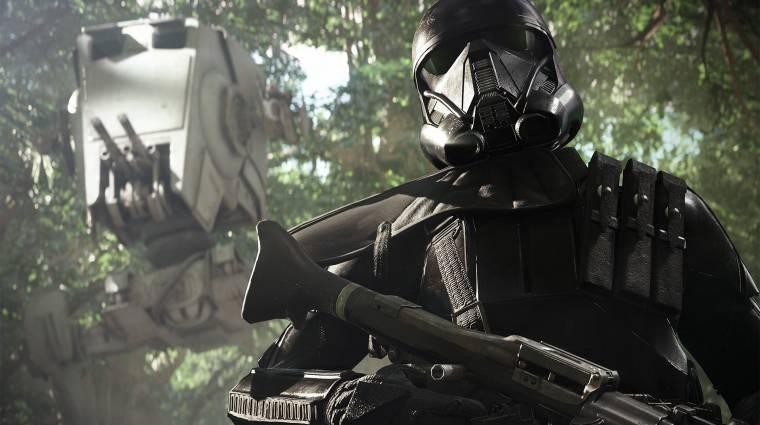 Bekattant és végzett egy játékossal a Star Wars Battlefront II egyik protokoll droidja bevezetőkép