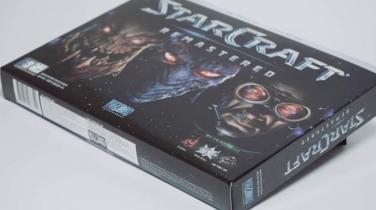 StarCraft: Remastered - ezt rejti a dobozos kiadás bevezetőkép
