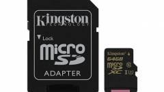 Új strapabíró U3 microSD kártya 4K-s videókhoz kép