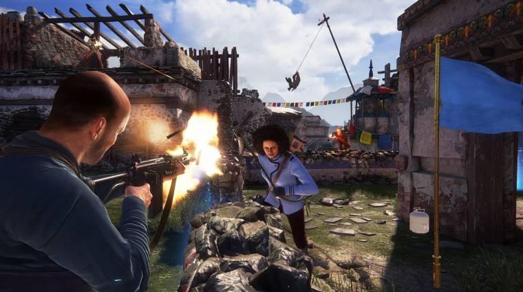 Uncharted 4: A Thief's End - visszatér a klasszikus játékmód bevezetőkép