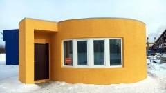 Világrekord: egy nap alatt húztak fel 3D nyomtatóval egy házat! kép