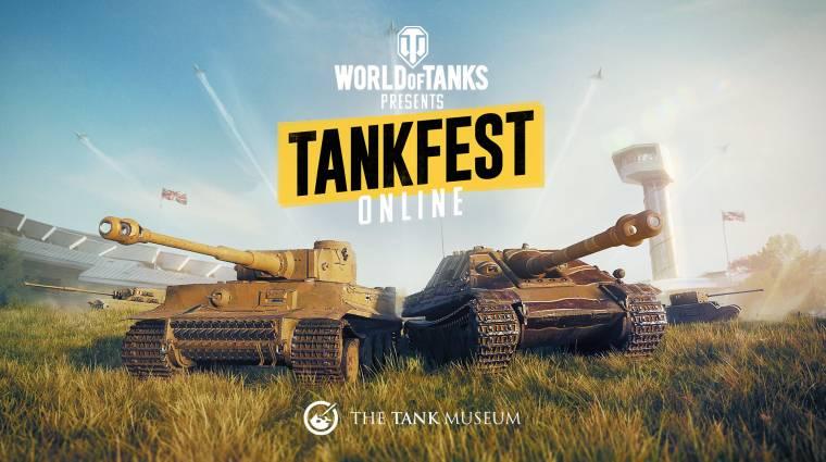 Online élvezhetjük idén a World of Tanks által támogatott Tankfest eseményt bevezetőkép