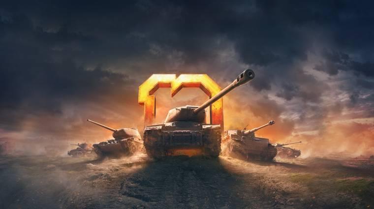 A Wargaming a gamescommal közösen ünnepli a World of Tanks 10. évfordulóját bevezetőkép
