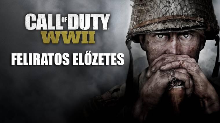 Call of Duty: WWII - már magyar felirattal is megnézhetitek az előzetest bevezetőkép