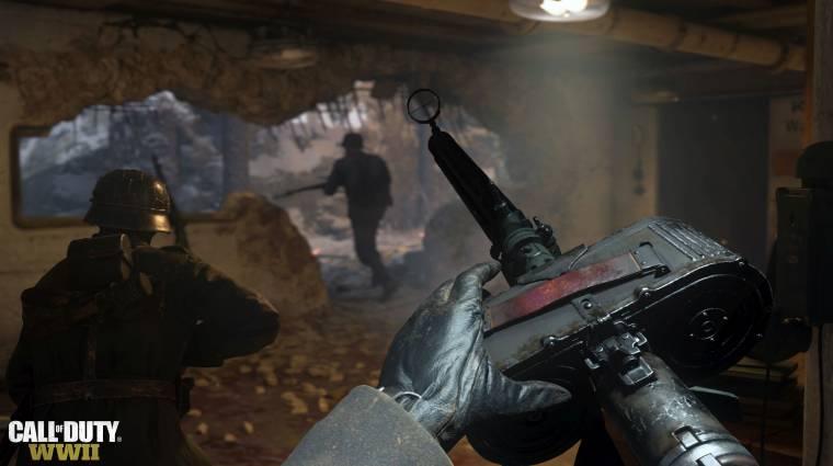 Call of Duty: WWII - számos fegyver megváltozik a következő frissítéssel bevezetőkép