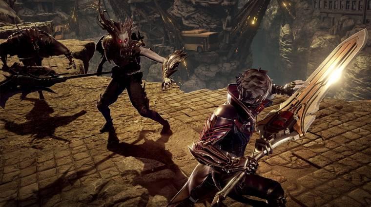 Code Vein - óriási fegyverek és szörnyek a legújabb gameplay videóban bevezetőkép