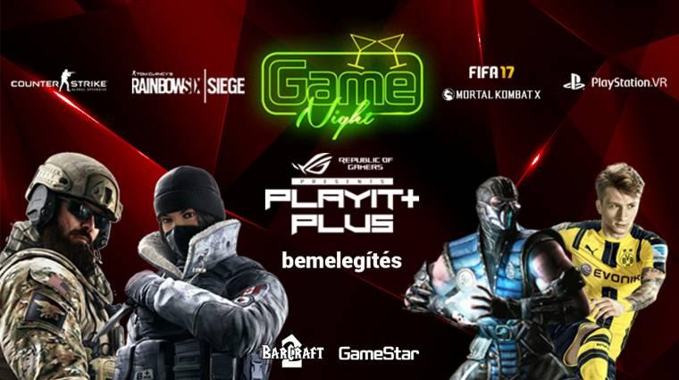 Rainbow Six: Siege, FIFA 17, Mortal Kombat XL és egyéb versenyek várnak a következő GameNighton! bevezetőkép