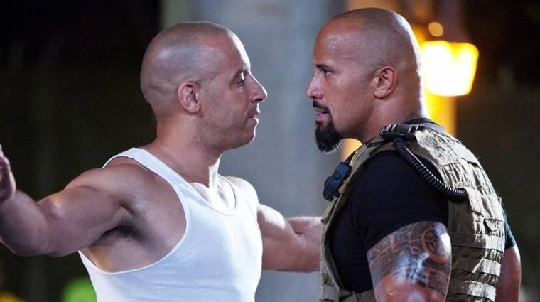 Dwayne Johnson kihagyhatja a Halálos iramban 9-et a Vin Dieseles balhéja miatt kép