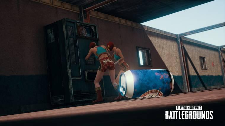 PlayerUnknown's Battlegrounds - később lehet, hogy már egy ballisztikus pajzsot is magunkkal vihetünk a harcba bevezetőkép
