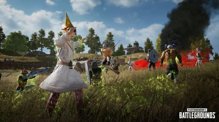 Fantasy témájú eseménnyel ünnepli a bolondok napját a PUBG bevezetőkép