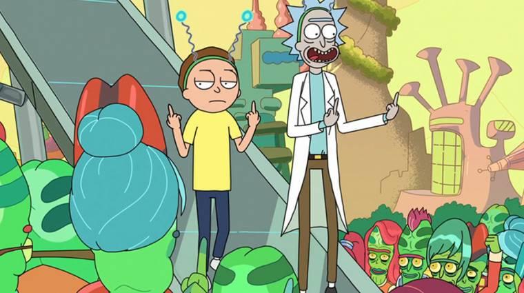 BRÉKING: Több évaddal folytatódik a Rick és Morty! kép