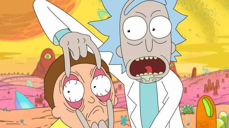 Első képeken a Rick és Morty következő évada kép