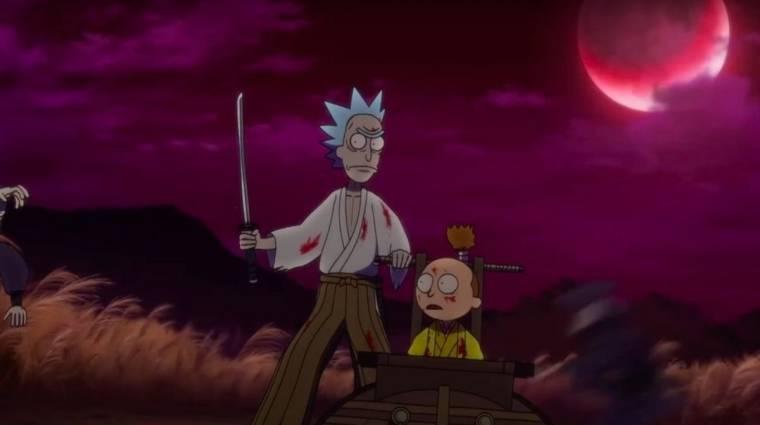 Anime ihletésű Rick és Morty rövidfilmmel várjuk az évad folytatását kép